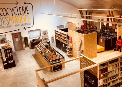 Ecocyclerie des Mauges, st quentin en mauges, graphiste, gwendoline maier